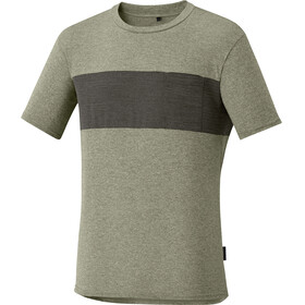 Shimano Transit T-Shirt Men Dusky Green